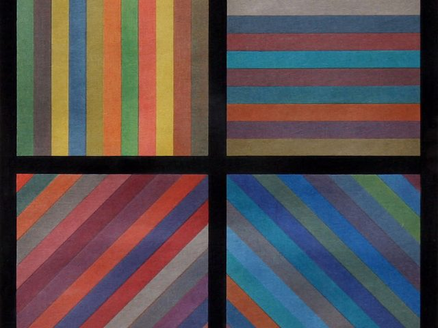 Sol LeWitt, Lines in Four Directions