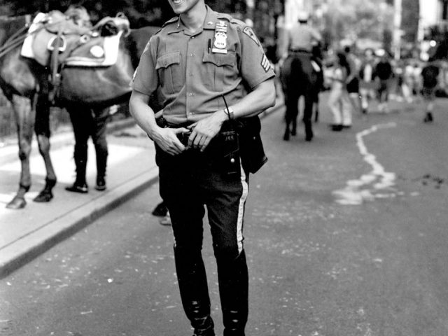 Walter Briski, Jr., Untitled (Policeman)