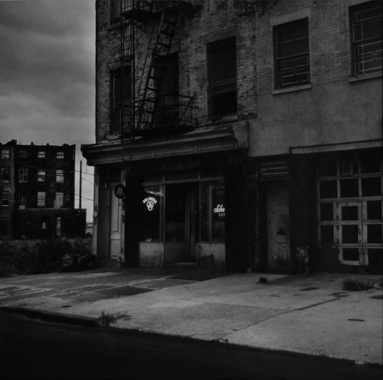 Peter Hujar, Brooklyn Bar