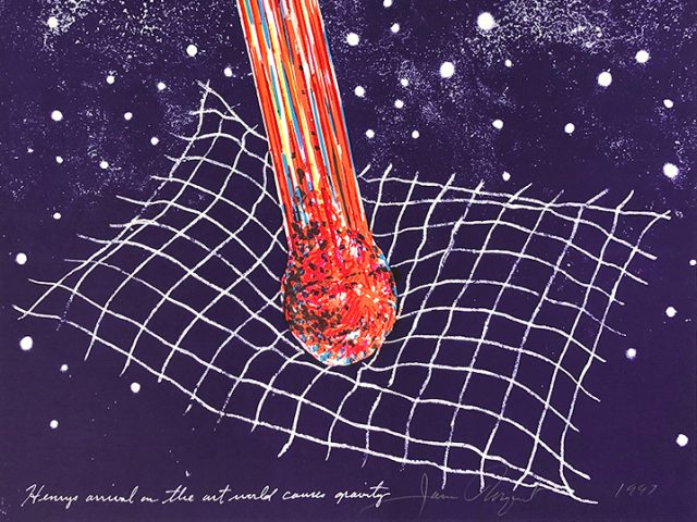 James Rosenquist, Henry's Arrival on the Art World Causes Gravity