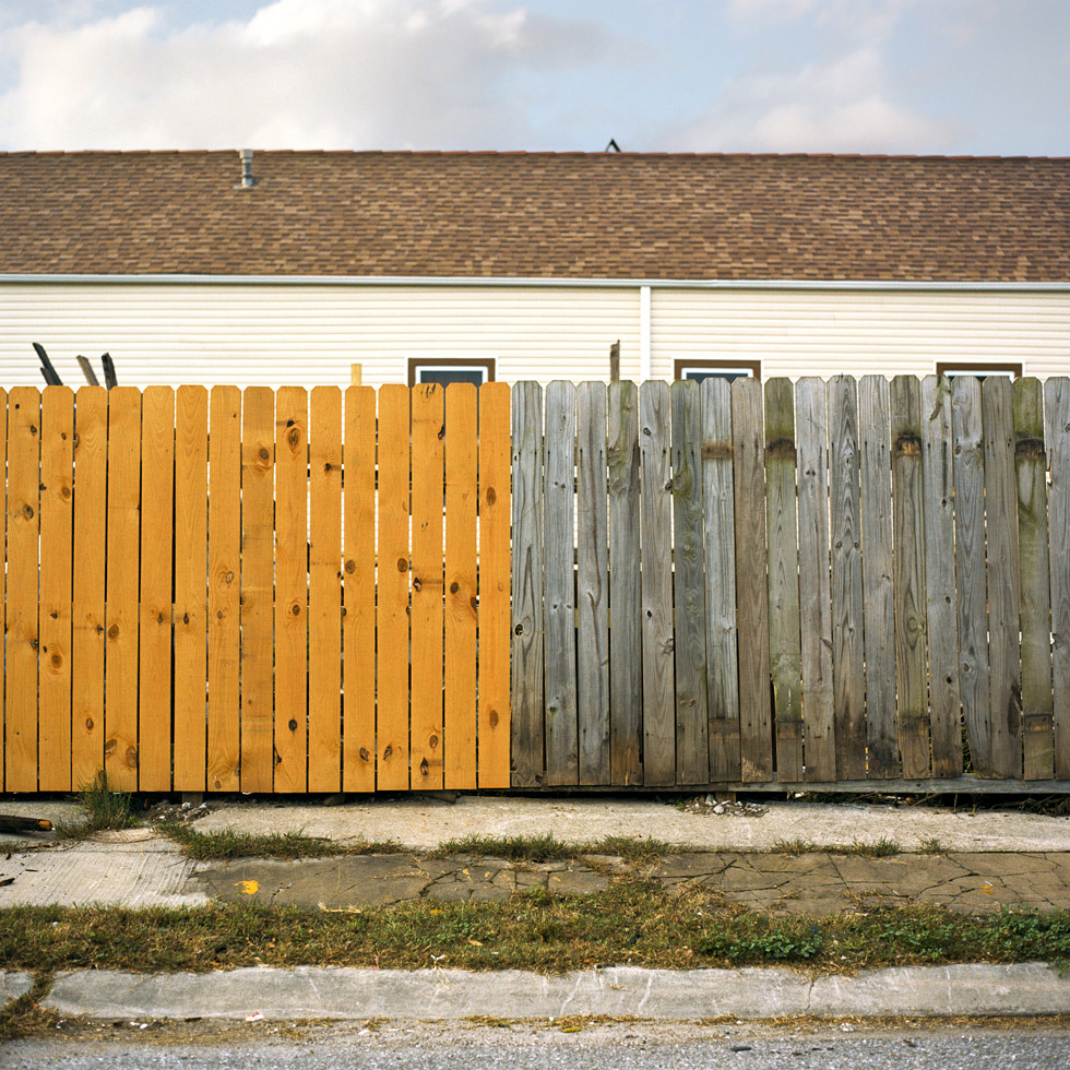 Two-toned Fence