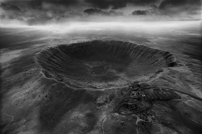 Stan Gaz, Origin 5 (Meteor Crater), Arizona, United States