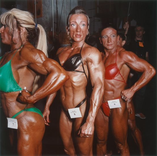 Brian Finke, Untitled (Bodybuilding 14)