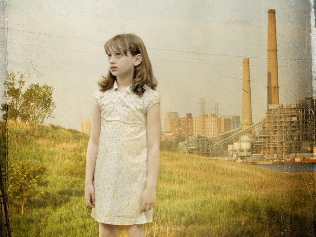 Caitlyn at factory, New Jersey