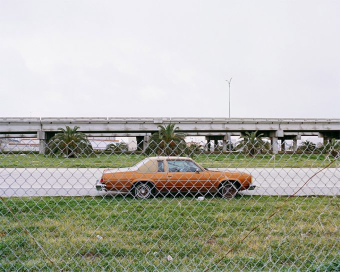 Amy Stein, Car Through Fence, Route 10