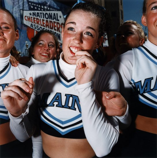 Brian Finke, Untitled (Cheerleading 19)