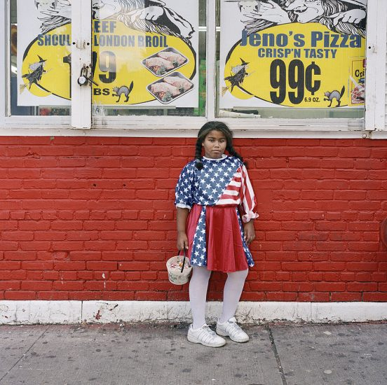 Amy Stein, Untitled (Flag Girl)