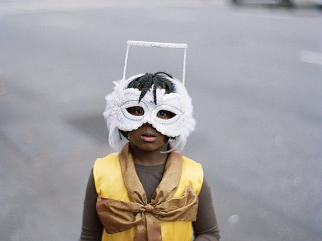 Amy Stein, Untitled (Mask)
