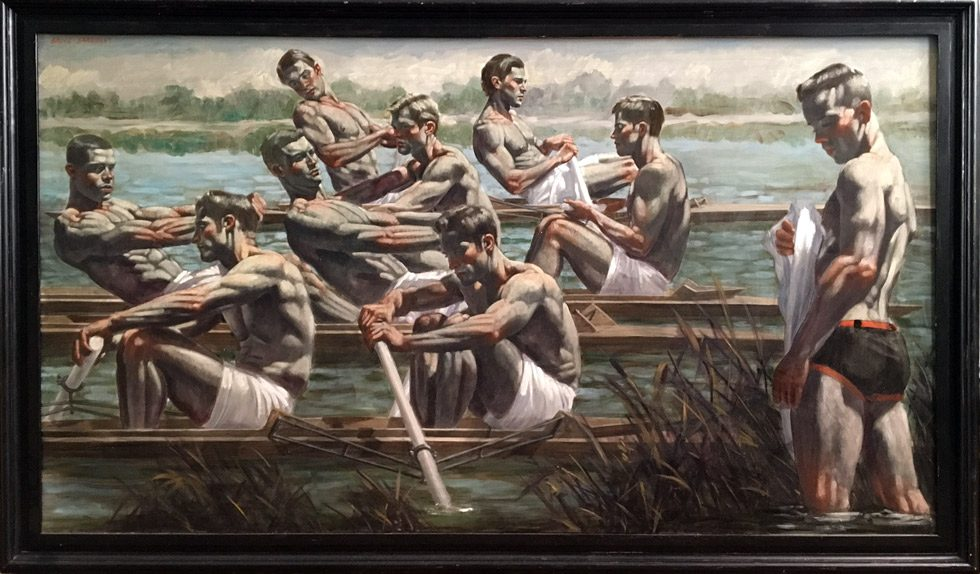 [Bruce Sargeant (1898-1938)] Rowers