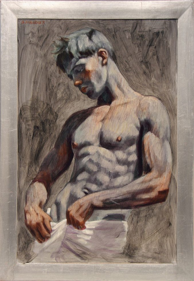 [Bruce Sargeant (1898-1938)] Man in White Towel
