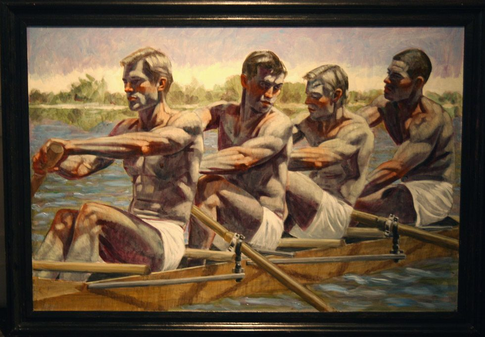 [Bruce Sargeant (1898-1938)] Rowing Team