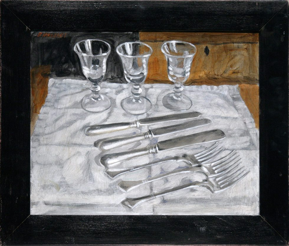 [Bruce Sargeant (1898-1938)] Tabletop Still Life