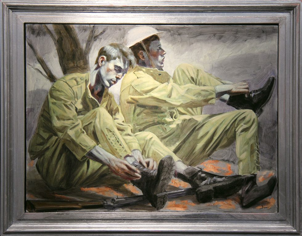 [Bruce Sargeant (1898-1938)] Two Soldiers