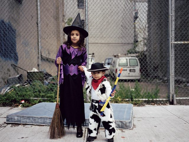 Amy Stein, Untitled (Witch and Cowboy)