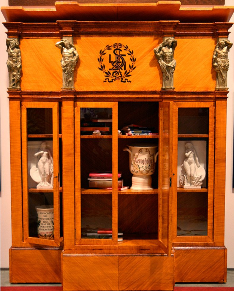 Ideology Bookcase with detachable Treasure Coffer