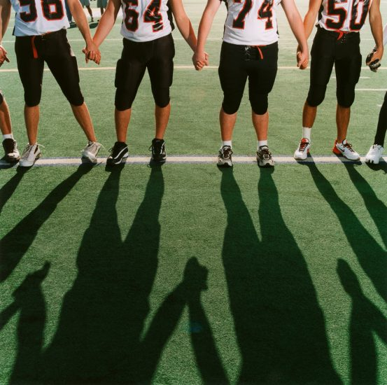 Brian Finke, Untitled (Football 27)