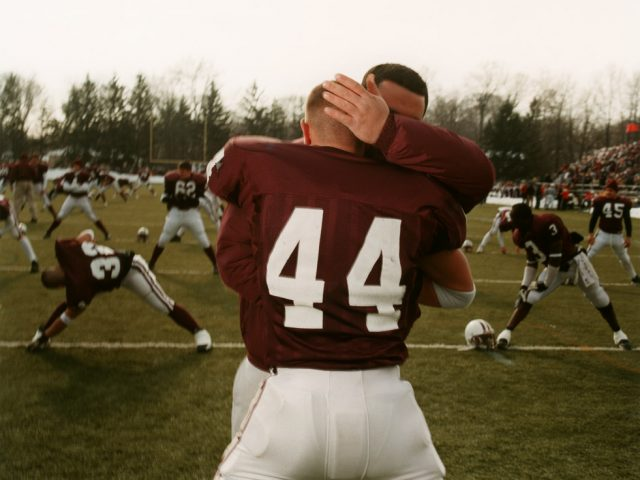 Brian Finke, Untitled (Football 73)