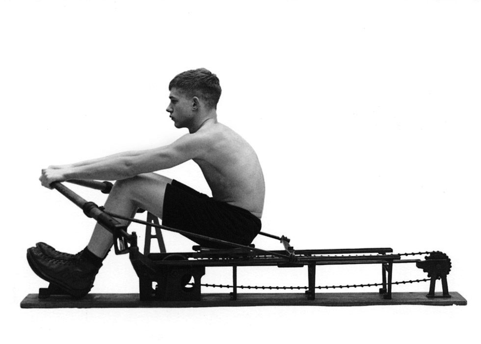 Rowing Machine (Side View)