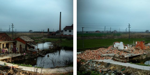 Stephen Wilkes, Before and After: Destruction, Jianqxin Island, China