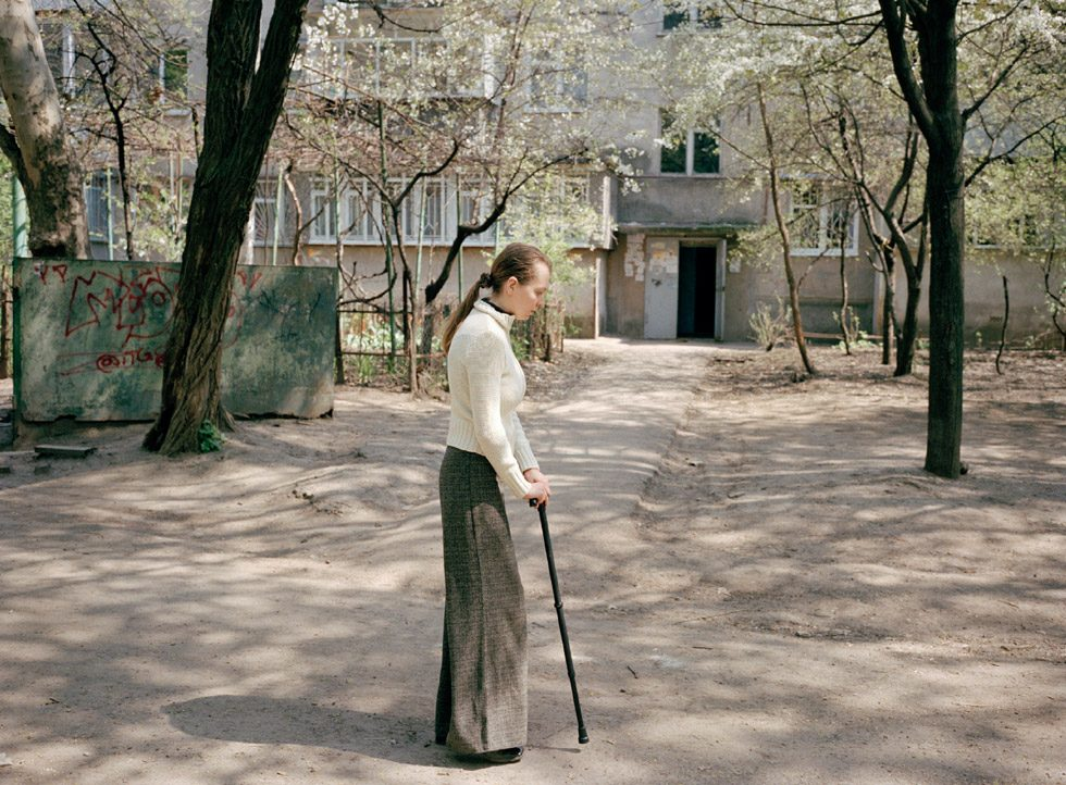 Untitled (Natascha with Cane)