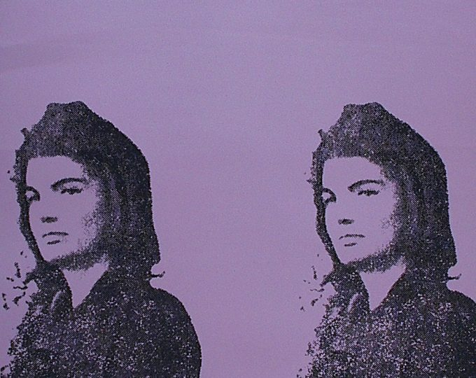 Andy Warhol, Jackie II, Screenprint