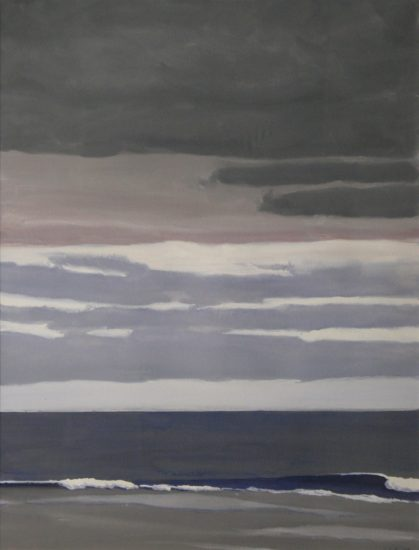 John Button, East Hampton, Approaching Storm