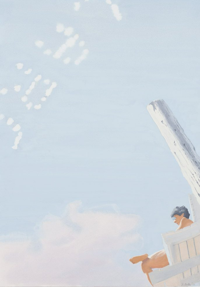 Lifeguard with Skywriting