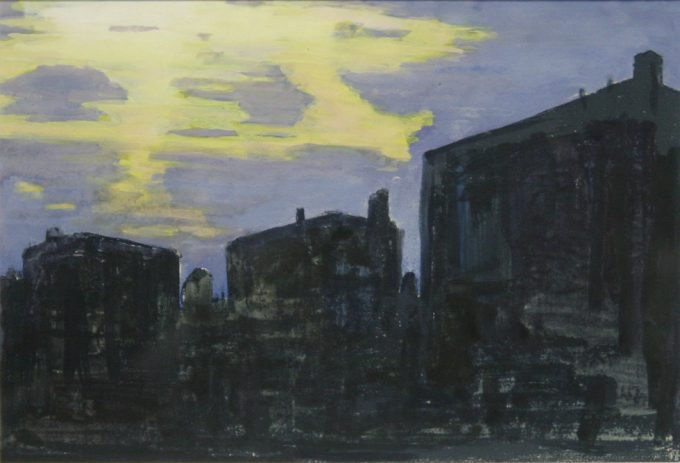 John Button, Yellow Sunset