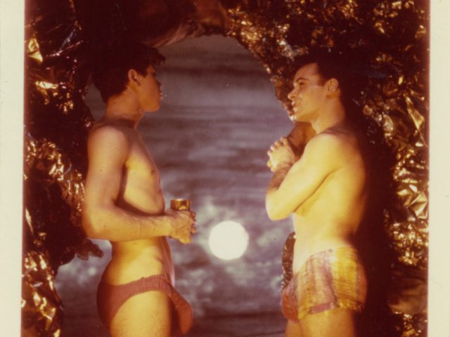 James Bidgood, At Cave Opening, Sandcastles [046]