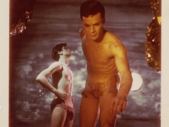 James Bidgood, Reaching, Sandcastles [050]