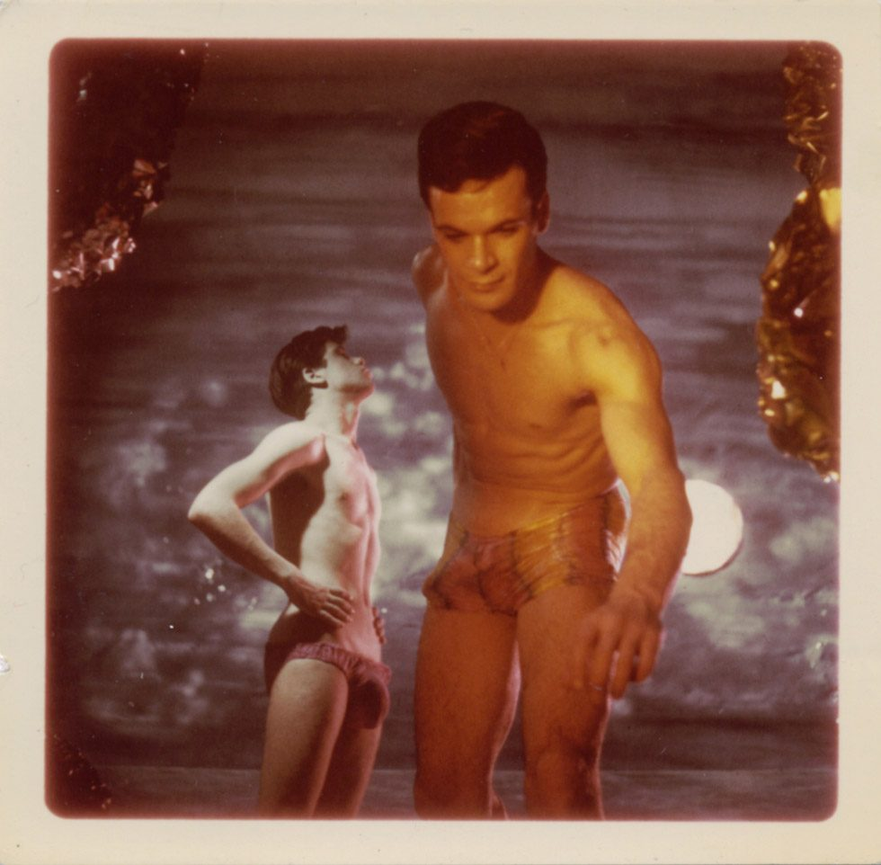 "James Bidgood, ""Reaching, Sandcastles"""