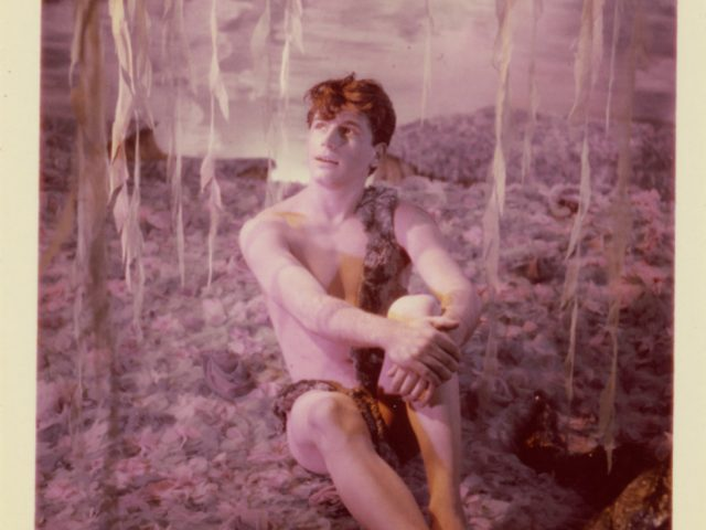 James Bidgood, Sitting Under Willow Tree [033]