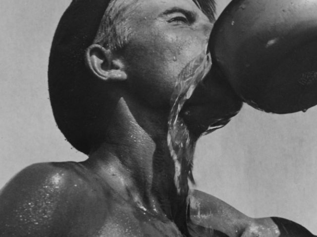 Yakov Khalip, Worker Drinking, Thirst