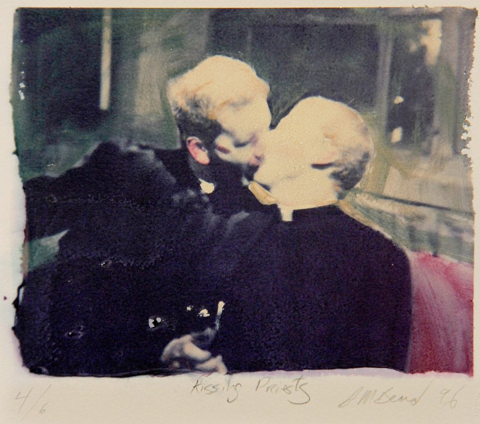 Kissing Priests