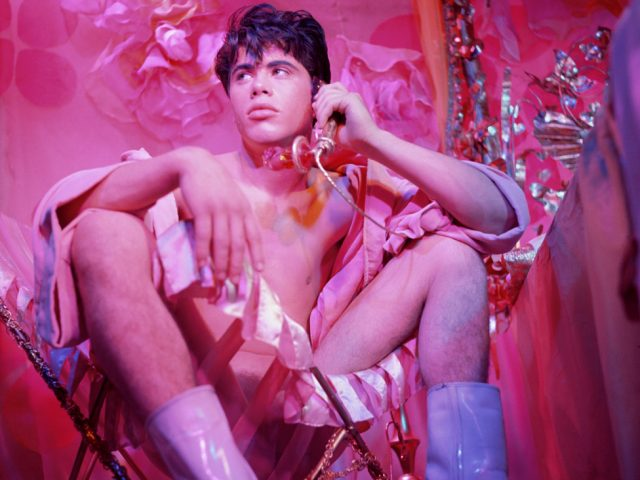 James Bidgood, Bobby Kendall Seated in Chair