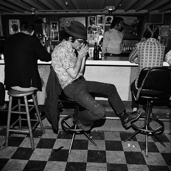 Henry Horenstein, Harmonica Player, Merchant's Cafe, Nashville, Tennessee