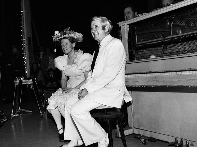 Henry Horenstein, Minnie Pearl and Peewee King, Ryman Auditorium, Nashville