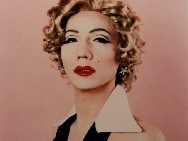 Yasumasa Morimura, Self Portrait at Marilyn
