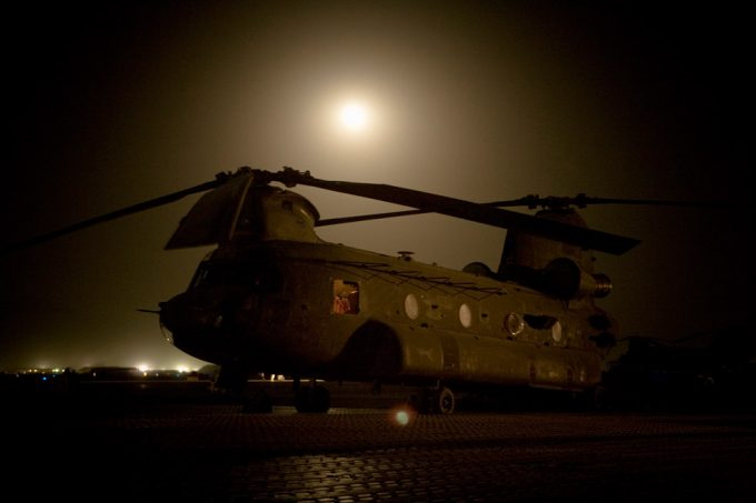 Chad Hunt, CH-47 Chinook Helicopter, Bagram Airbase, Kabul, Afghanistan