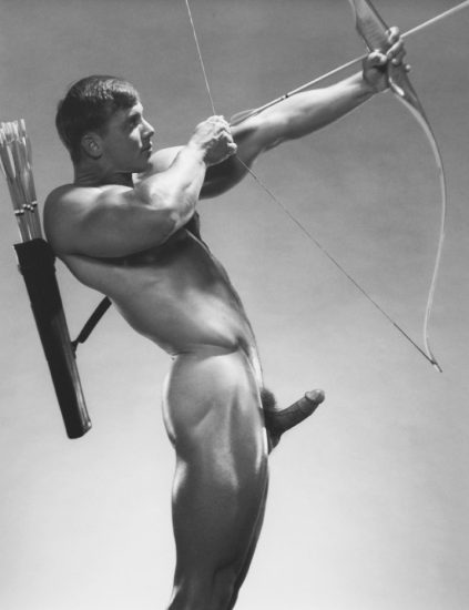 Jim French, John Pruit, Bow and Arrow