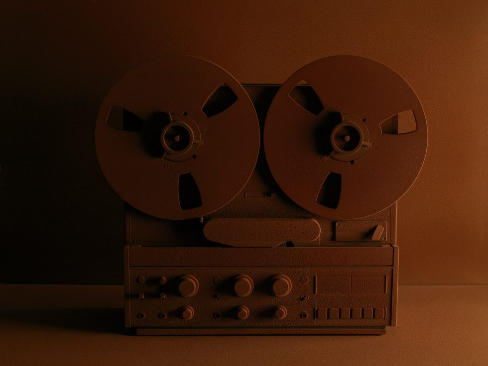 Frédéric Lebain, Untitled (Reel-To-Reel Recorder)