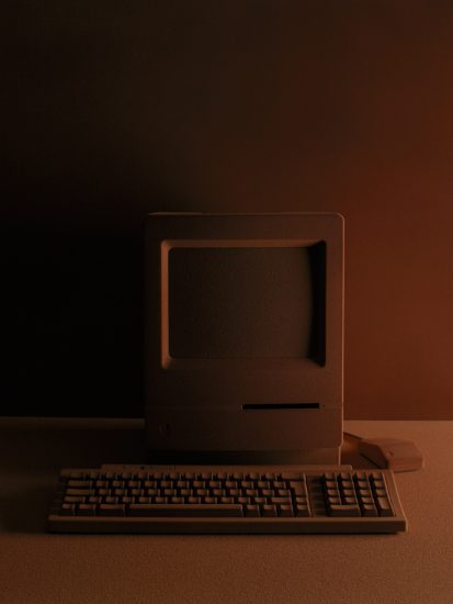 Frédéric Lebain, Untitled (Apple Computer)