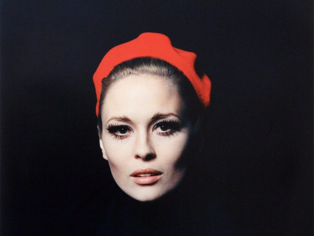 Jerry Schatzberg, Faye Dunaway Red Hat
