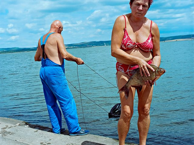 Evzen Sobek, Couple Fishing