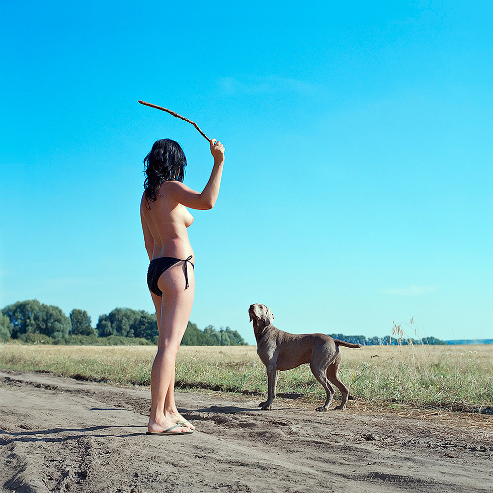 Untitled (Woman with Dog)
