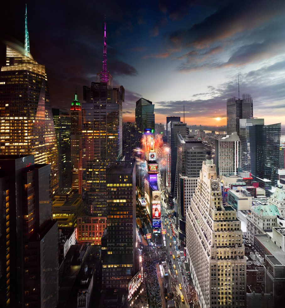 Stephen Wilkes, Times Square New Year's Eve