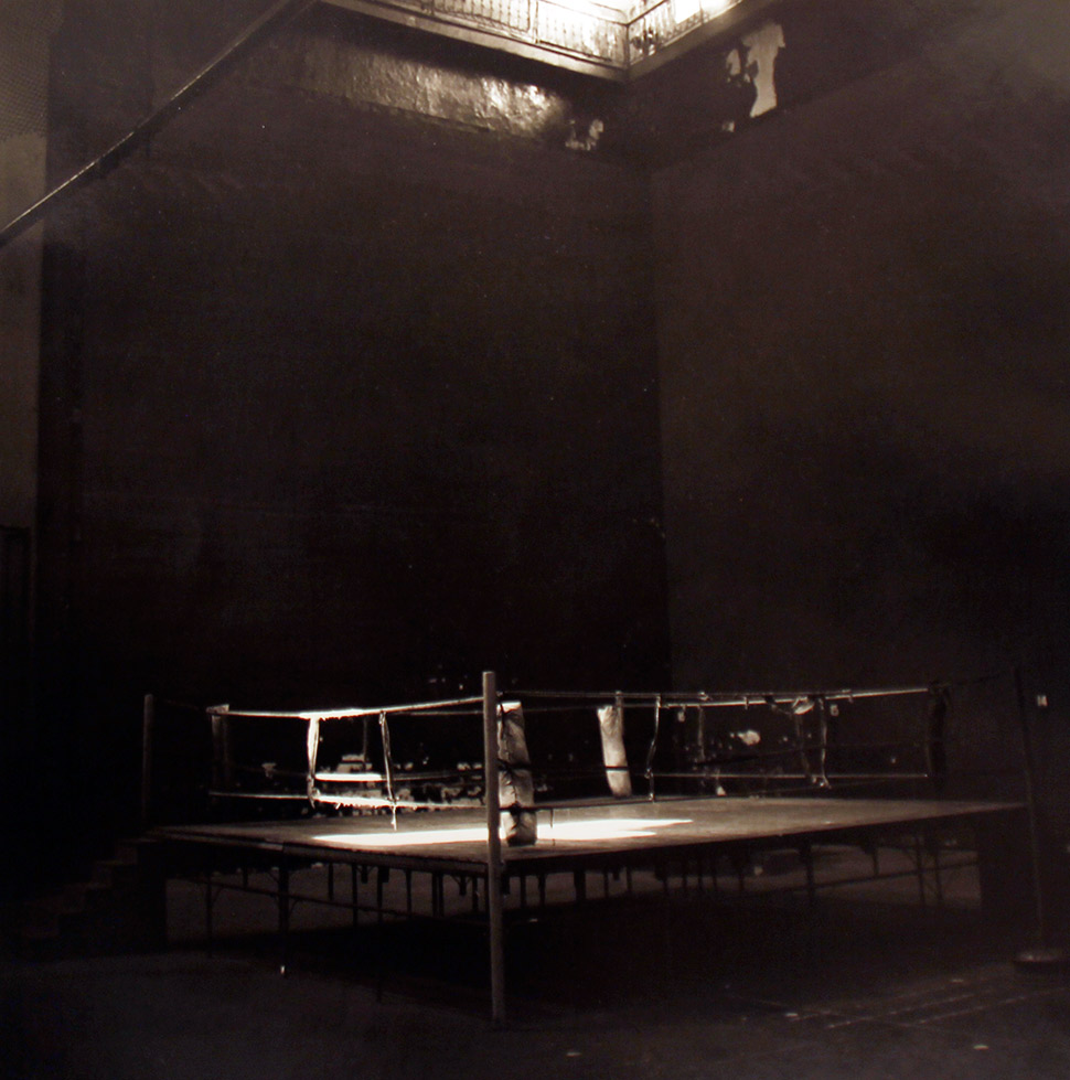 Untitled (Boxing Ring, New York)