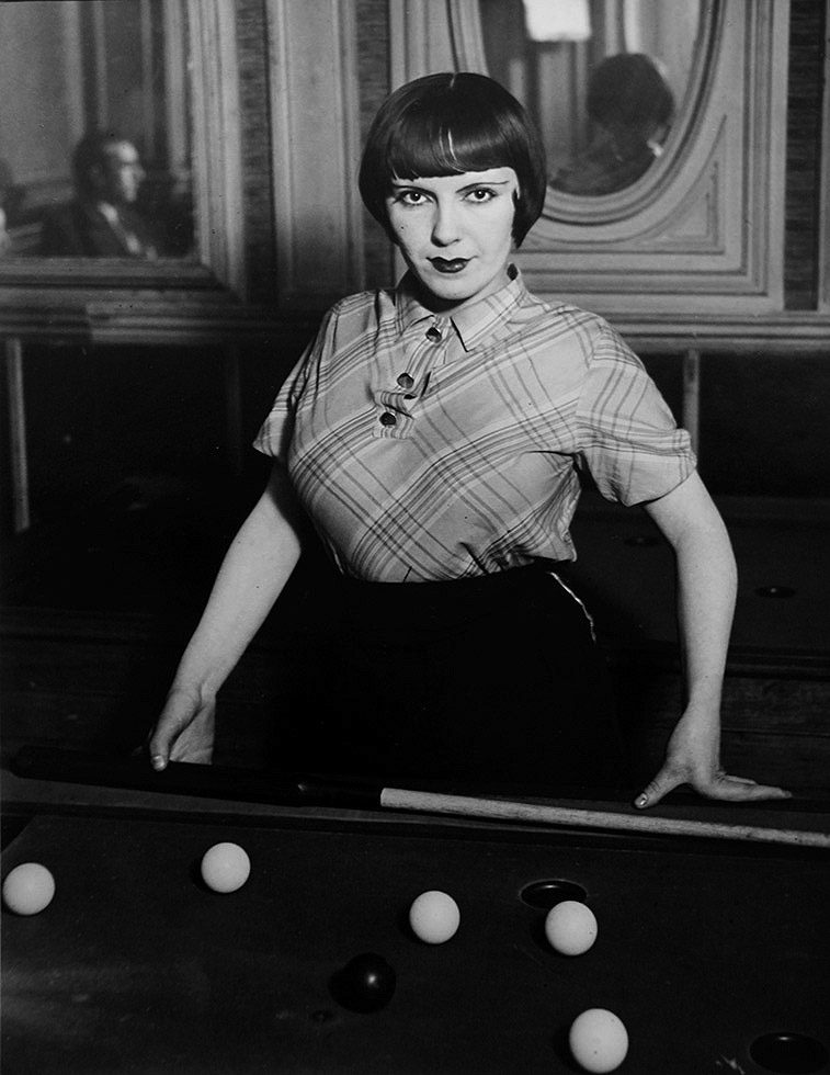 La fille de Joie au Billard Russe [Prostitute Playing Russian Billiards, Boulevard Rochechouart]