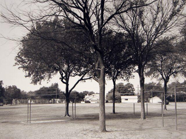 Frank Gohlke, Playground of Crockett Elementary School