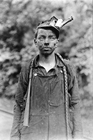 Lewis Hine, Young Miner